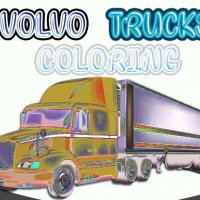 Volvo Trucks Coloring